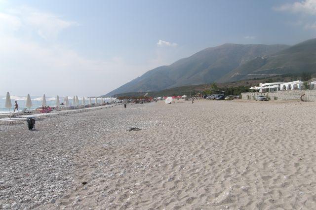 Zdjęcia: riwiera albańska, Bałkany, Dhermi 2010, ALBANIA