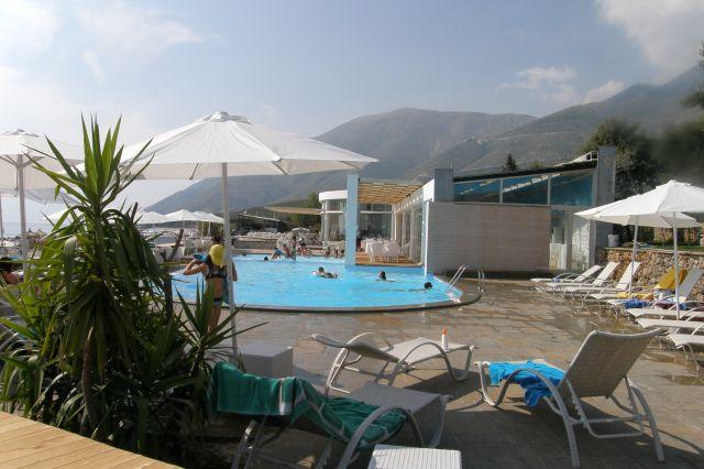 Zdjęcia: riwiera albańska, Bałkany, hotel na plaży nówka-Dhermi, ALBANIA