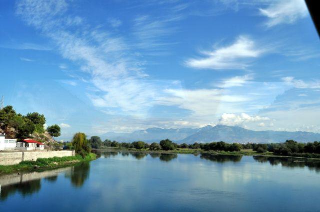 Zdjęcia: Szkodra, Rzeka Buna, ALBANIA
