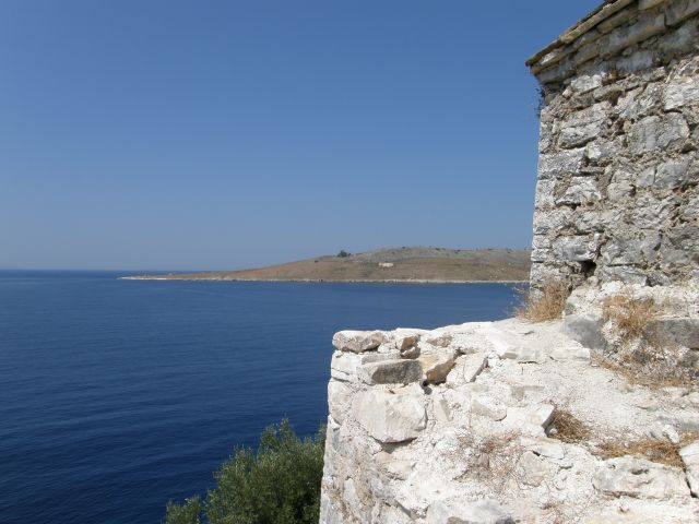 Zdjęcia: riwiera albańska, Bałkany, widok z twierdzy Palermo, ALBANIA