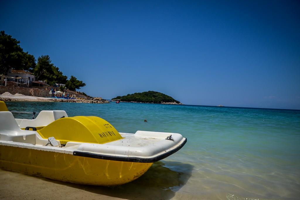 Zdjęcia: Ksamil, Ksamil, Plaża w Ksamilu, ALBANIA