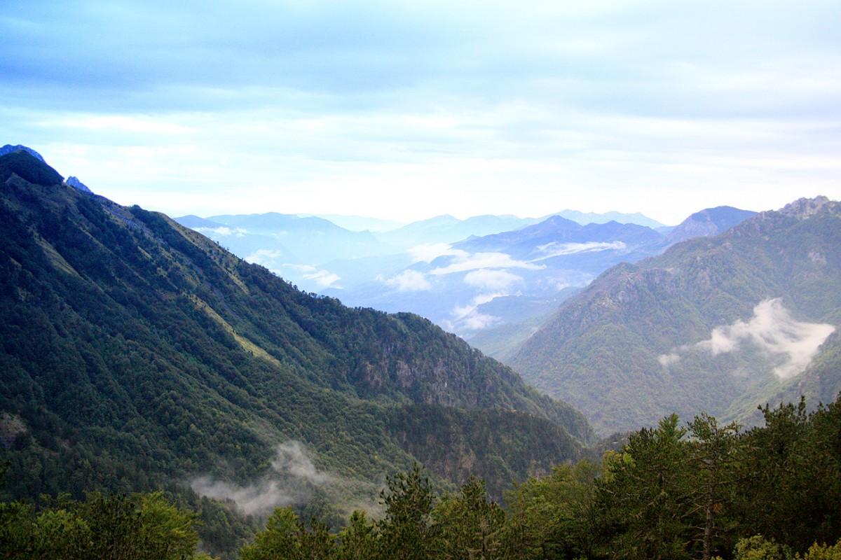 Zdjęcia: Theth, Theth, W drodze do Theth, ALBANIA