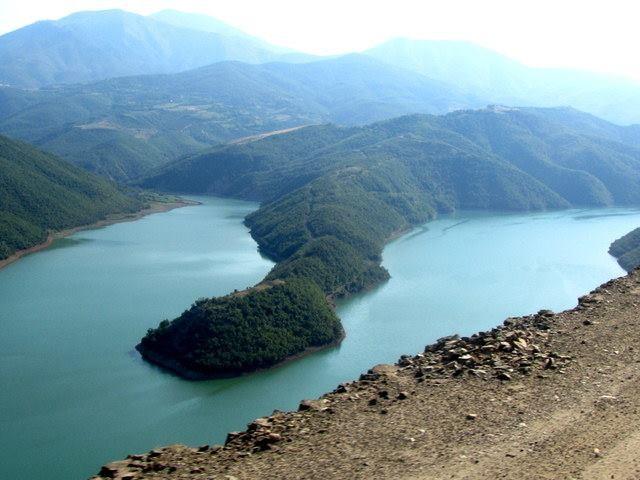 Zdjęcia: Jezioro Koman, Północ, xx, ALBANIA