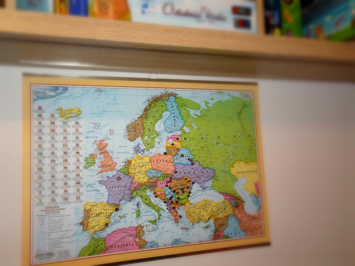 Zdjęcia: nasz salon ;), Bałkany, mapa planowanie trasy, ALBANIA