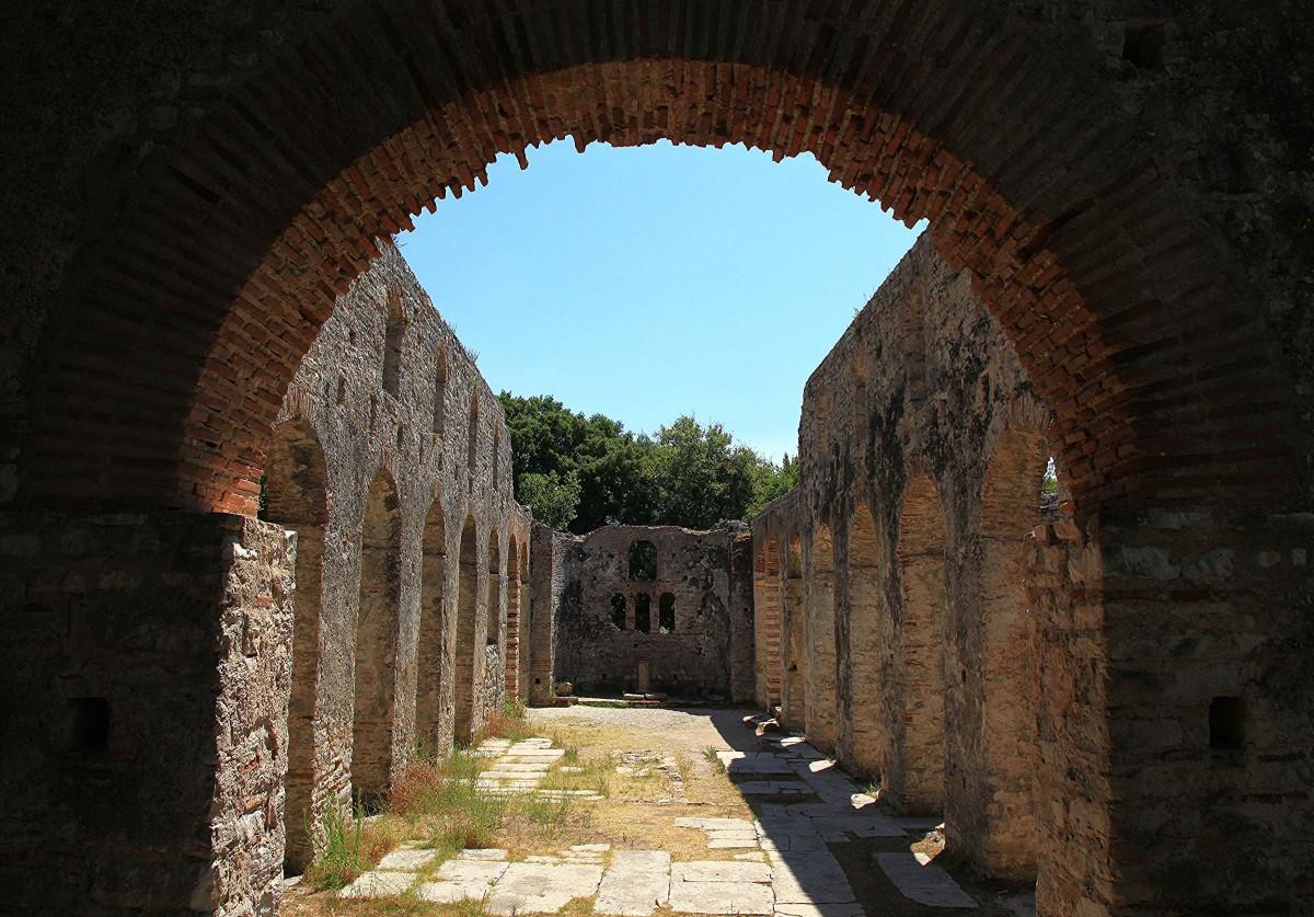 Zdjęcia: Butrint , Saranda, Wielka Bazylika z VI w , ALBANIA