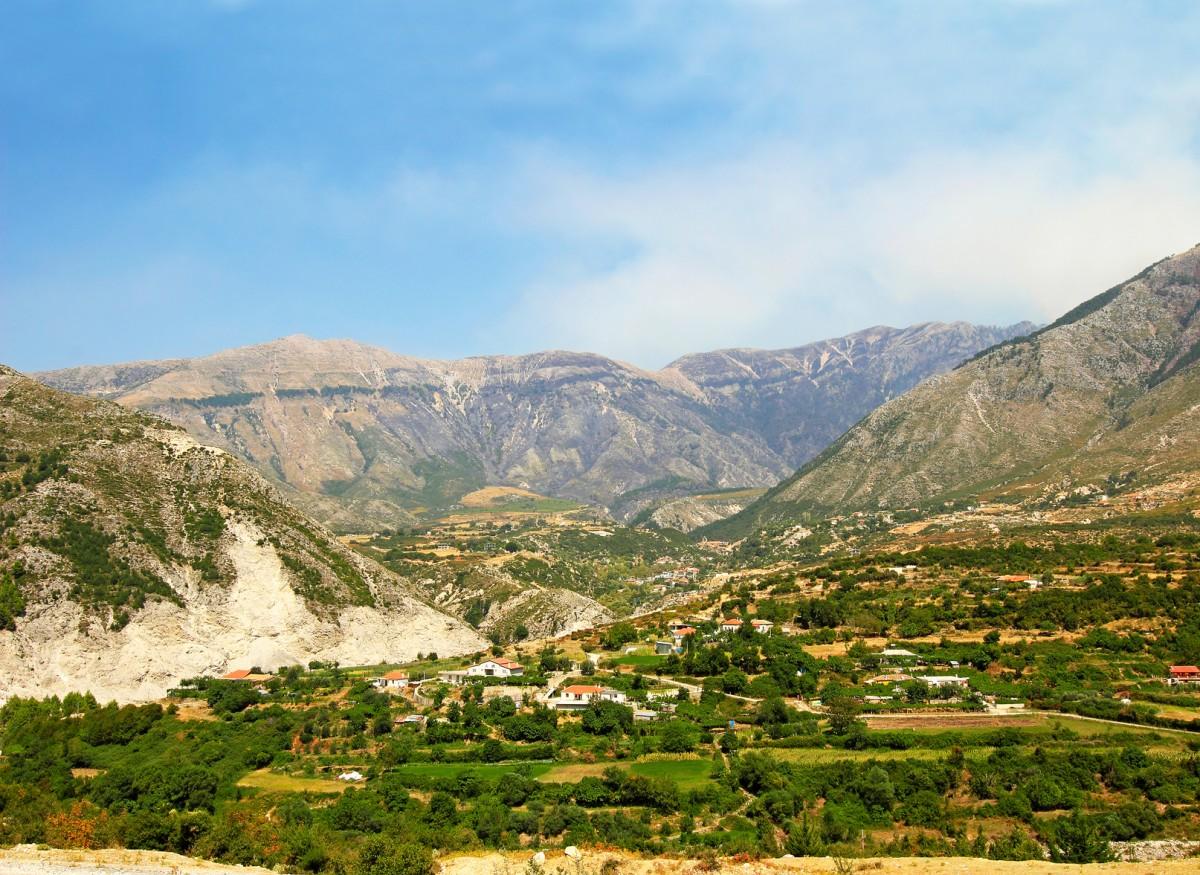 Zdjęcia: Przełęcz Llogara, Góry albańskie, ALBANIA