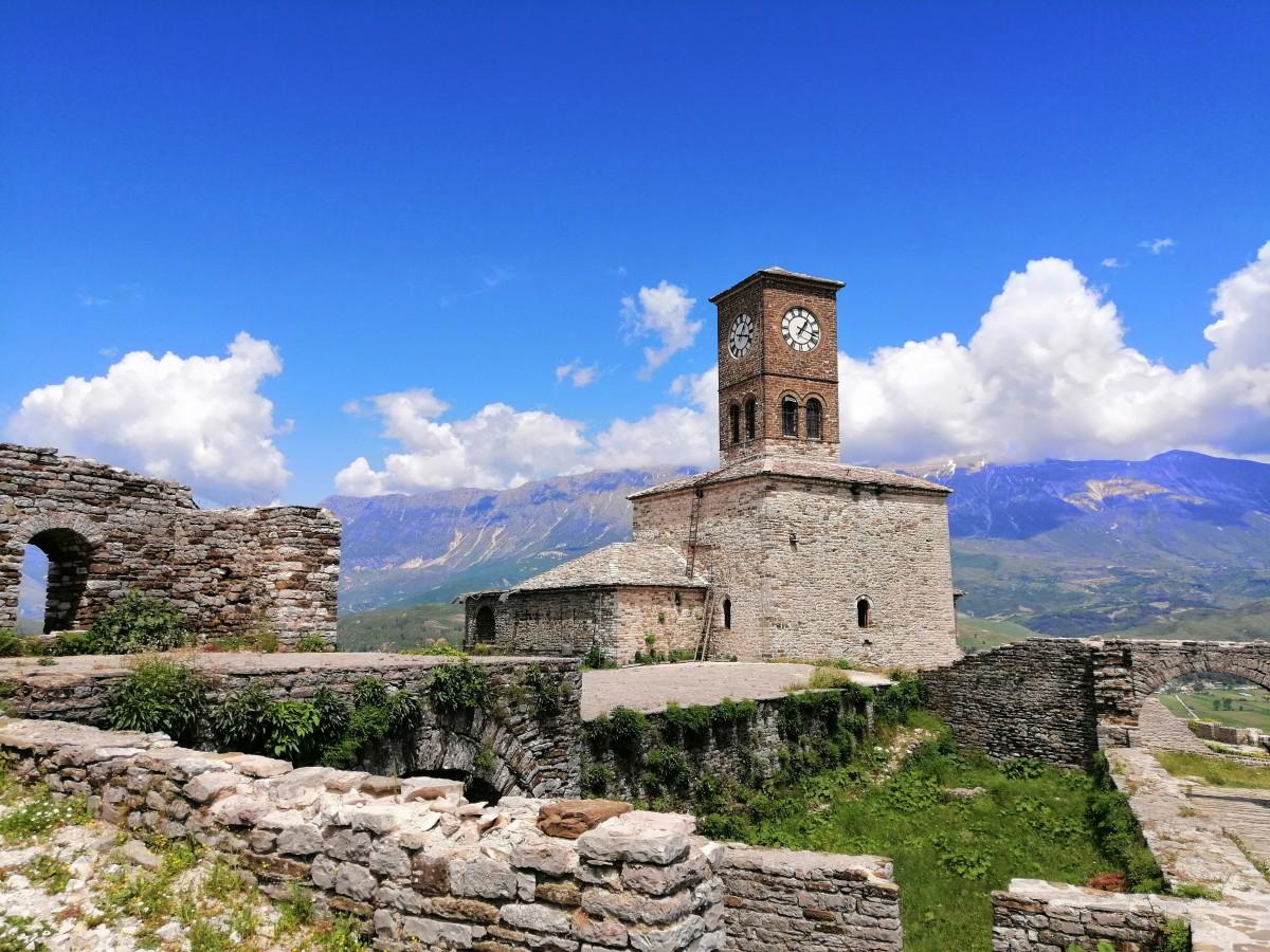 Zdjęcia: Gjirokastra, Gjirokastra, Gjirokastra - twierdza, ALBANIA