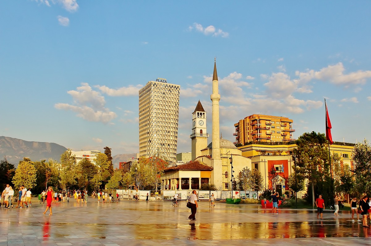 Zdjęcia: Tirana, Tirana, Plac Skanderbega, ALBANIA