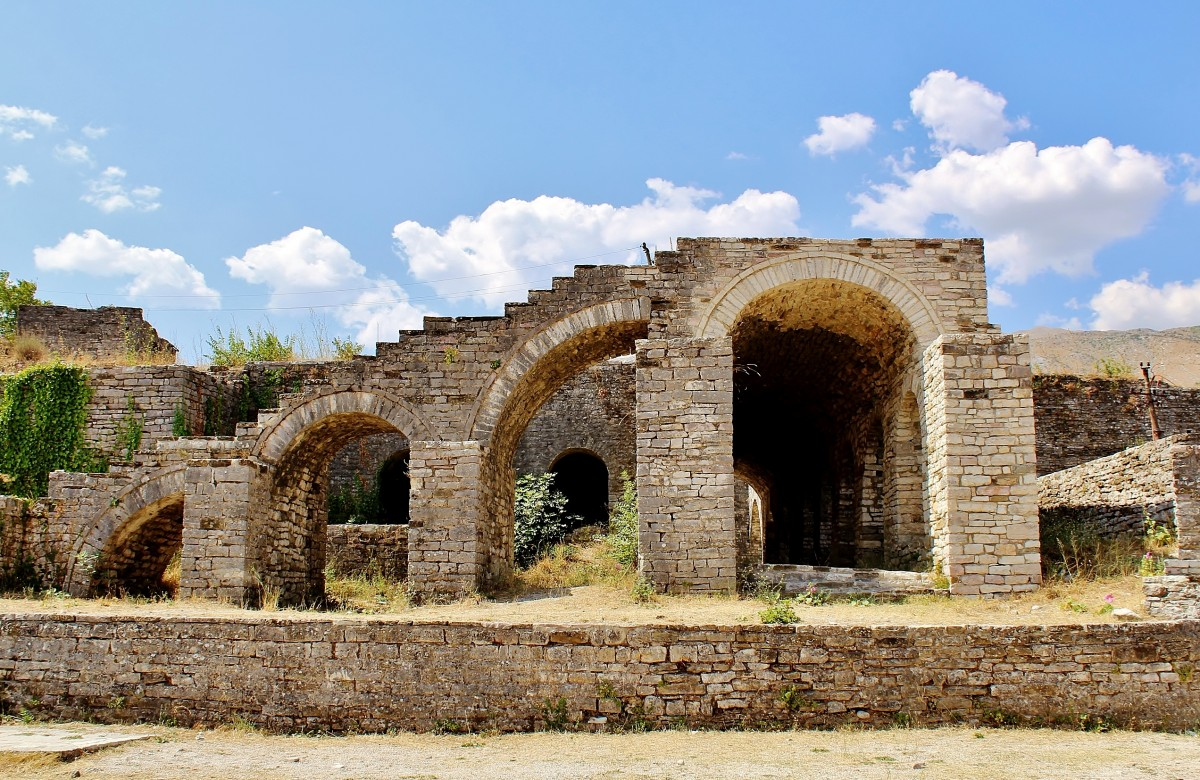 Zdjęcia: Gjirokastra, Gjirokastra, Twierdza Kalaja z XV wieku, ALBANIA