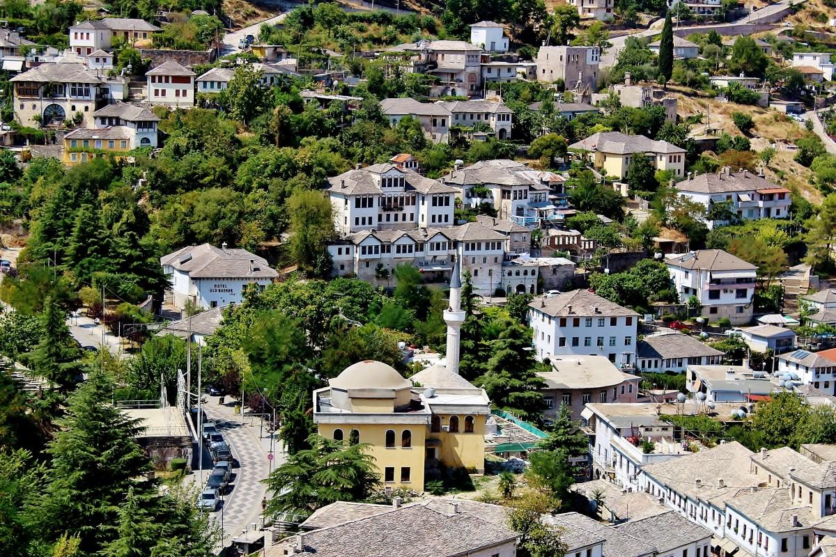 Zdjęcia: Gjirokastra, Gjirokastra, Gjirokastra-kamienne miasto, ALBANIA
