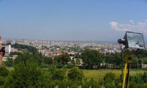 Zdjecie ALBANIA / stolica Albanii / miasto / PanoramaTirany