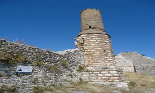 Zdjęcie ALBANIA / Berat / Berat, dzielnica Kala / Czerwony meczet