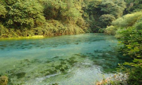 Zdjecie ALBANIA / Gjirokaster / droga Gjirokaster - Saranda / Syri i Kalter