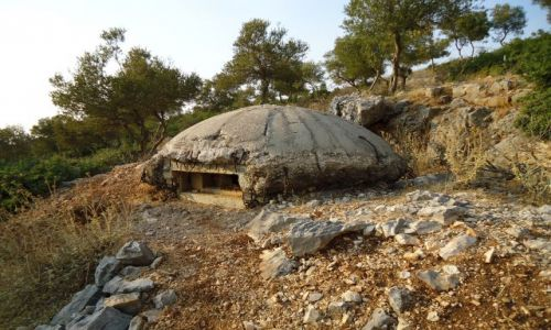 Zdjęcie ALBANIA / Saranda / Ksamil / Typowy albański obiekt