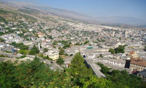 Zdjęcie ALBANIA / Gjirokaster / Gjirokaster / Panorama Gjirokastry