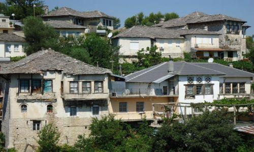 Zdjęcie ALBANIA / Gjirokaster / Gjirokaster / Panorama