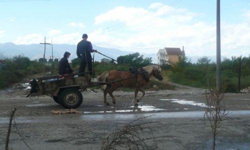 Zdjecie ALBANIA / - / Przed granicą z Czarnogórą / Albania ma swój