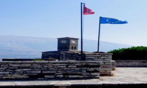 ALBANIA / południe Albanii / Gjikoastra / W twierdzy - Gjiokastra