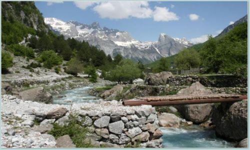 Zdjecie ALBANIA / Park Narodowy Theth / droga Theth - Shkodra / Landszafcik