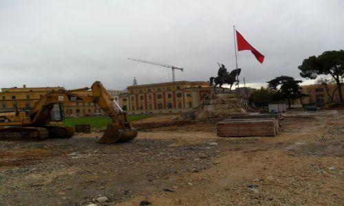 Zdjecie ALBANIA / Tirana / Plac Skanderberga  / Jerzy Kastriota