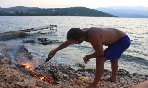 Zdjęcie ALBANIA / - / Ksamil / tutejszy specjał(