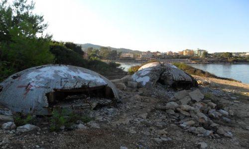 ALBANIA / - / Ksamil / Pamiątki po Hodży