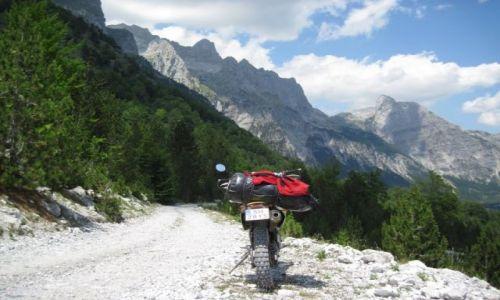 ALBANIA / Góry Przeklęte / Góry Przeklęte / szuterek
