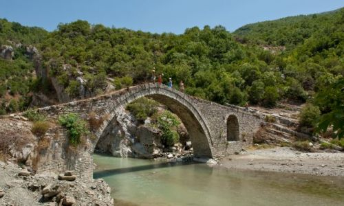 ALBANIA / - / albania / Rzymski most
