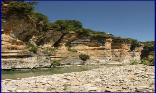 Zdjecie ALBANIA / - / Kanion rzeki Osum / Kanion rzeki Os