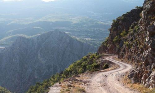 ALBANIA / wschód kraju / Kukes / Bałkany