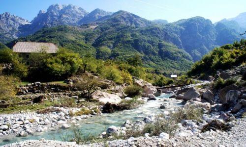 Zdjecie ALBANIA / Góry przeklęte / okolice Theth / spacer w górach przeklętych