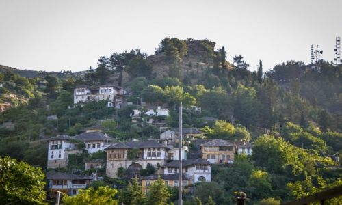 ALBANIA / Gjirokaster / Gjirokaster / Miasto białych dachów