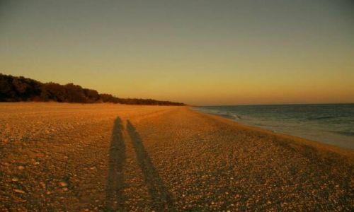 Zdjecie ALBANIA / Wybrzeże Jońskie / Drymades / Zachodzące Drymades