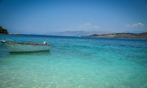 Zdjecie ALBANIA / Ksamil / Ksamil / Plaża w Ksamilu