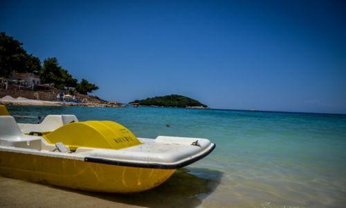 ALBANIA / Ksamil / Ksamil / Plaża w Ksamilu