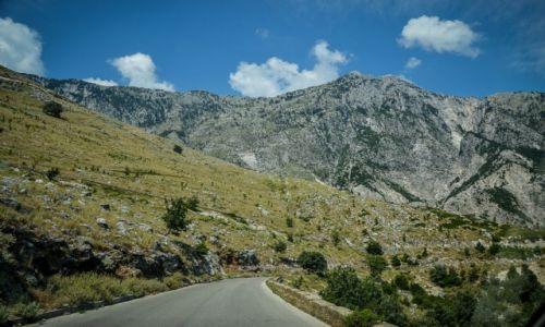 ALBANIA / przełęcz Llogara / - / Albańskie wybrzeże