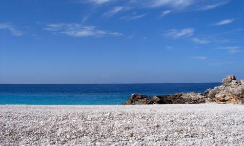 Zdjecie ALBANIA / południe / plaża / puste plaże