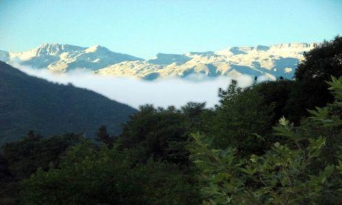 ALBANIA / Okolice wsi Benje / Prawy brzeg Rruga e Benjes / Otulina