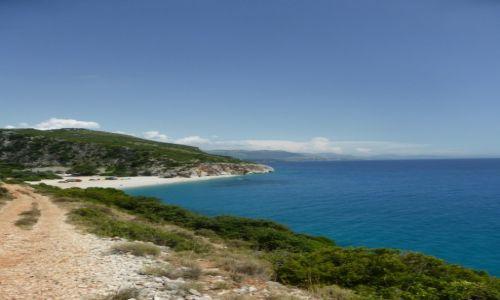 Zdjęcie ALBANIA / Dhermi / Gjipe / plaża