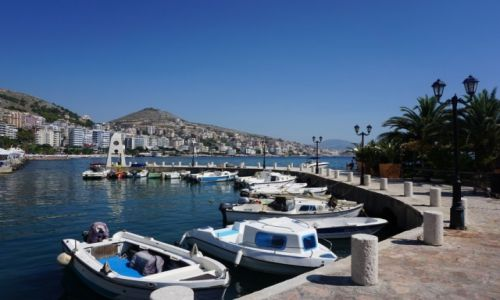 Zdjęcie ALBANIA / Albania / Sarande / Sarande Marina