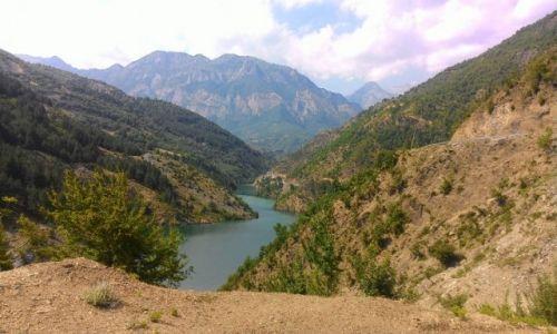 ALBANIA / - / Lekbibaj / Dolina w Lekbibaj