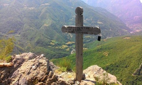 ALBANIA / - / Curraj Eperm / W drodze przez Alpy do Curraj Eperm