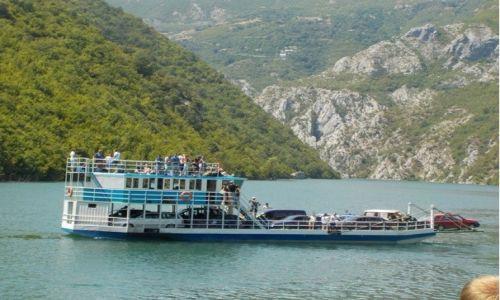 ALBANIA / - / Koman Lake / Albánská výzva
