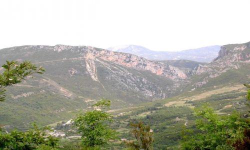 Zdjecie ALBANIA / Albania / W pobliżu Tirany / Krajobraz