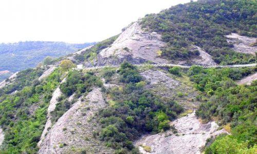 Zdjecie ALBANIA / Albania / W pobliżu Tirany / Droga