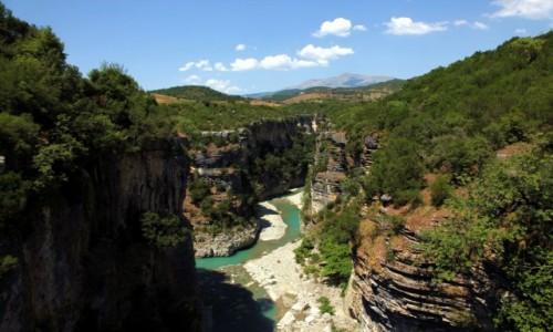 Zdjęcie ALBANIA / Berat / Corovoda / Kanion rzeki Osum