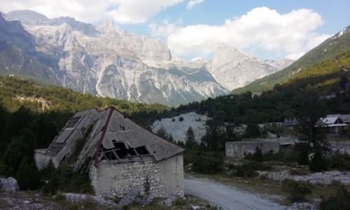 Zdjecie ALBANIA / - / Theth / Gory przeklete