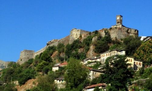 Zdjęcie ALBANIA / Gjirokastra / Stare Miasto / Twierdza Kalaja