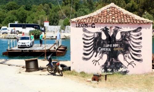 Zdjęcie ALBANIA / Saranda / Butrint  / Czekając na prom