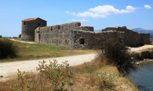 Zdjecie ALBANIA / Saranda / Butrint  / Twierdza w ruin